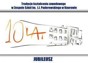10-lecie Technikum nr 1 w Zespole Szkół im. I.J.Paderewskiego w Knurowie