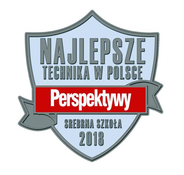 srebrna tarcza - logo Perspektyw